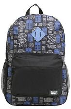NWT BBC Doctor Who Tardis Time Lord Dr Who School Book Bag Backpack Camp