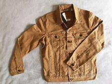LEVI'S DENIM TRUCKER JACKET Size Men's Medium TYPE 3 Desert Brown BNWT New + Tag