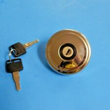 New Locking Gas Cap MG Midget MGB 1962-1969 Vented Polished Stainless Steel