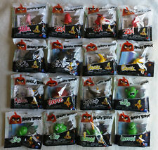 Angry Birds Movie Collectible Figures Complete Set of 16 Rare with Display Box