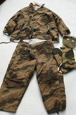 German WWII reproduction Tan/Water pattern COMPLETE winter parka set gloves mask