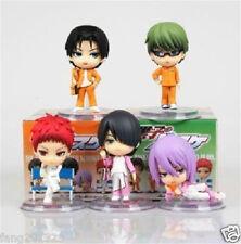 Anime Kuroko's Basketball Kuroko no Basuke 5PCS FIGURE FIGURINE NEW IN BOX LOT