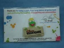 KERMIT Muppets VOLUNTEARS Give A Day CAST MEMBER LE DISNEY PIN