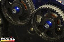 CAM PULLEY DRESS UP HARDWARE - BLUE - Z20LET Z20LEH VXR GSI SRI BOLT COLLARS