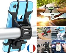 Support Téléphone Vélo Moto  Guidon Porte Smartphone Gps VTT Bicyclette Cyclisme