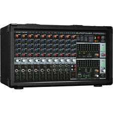 NEW Behringer PMP2000D 14 Channel Powered Mixer 2000 Watts Amplified EQ Effects