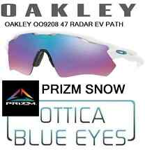 Occhiali da Sole OAKLEY RADAR EV PATH 9208 47 PRIZM SNOW Sunglasses Mask Ski new