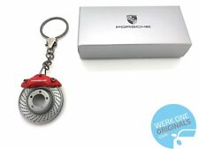 Porsche Brake Disc Key Ring Key Fob