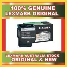 GENUINE ORIGINAL LEXMARK BLACK TONER CARTRIDGE C540H1KG FOR C540N C540DW NEW