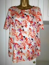 SMART UNLINED LIGHTWEIGHT TOP BY RED HERRING IN VG CON SIZE UK 16 BUST 42""