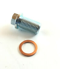 Oil Drain Plug + Seal for Chrysler Jeep Mercedes-Benz