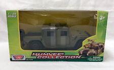MotorMax Humvee Collection 1:24 Cargo Troop Carrier 73300 Die-cast Metal Plastic