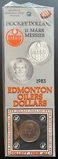 1983 Edmonton Oilers Dollar - #11 Mark Messier Hockey Dollar Card - Sealed