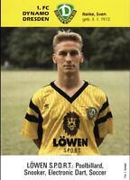 AK 4295 Sven Ratke, 1. FC Dynamo Dresden, 1. Bundesliga 1991/92