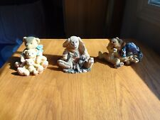 3 Bear Figurines