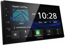 "Kenwood DMX47S 6.8"" Digital Multimedia Receiver w/ Apple CarPlay & Android Auto"