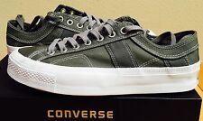 New CONVERSE ALL STAR SOUTHIE CT OX WOMENS 10.5 MENS 8.5 CHARCOAL WHITE CASUAL
