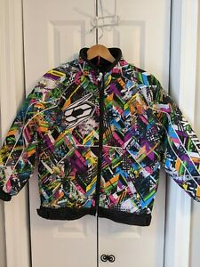 Unisex Youth Castle X Racewear Jacket Size Large Multicolor Switch