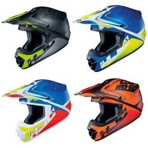 HJC CS-MX II Ellusion Motocross Helmet Off Road ATV Motorcross Crash Lid