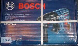 "Brand New Bosch GBH18V-20N - 18V 3/4"" SDS-Plus Rotary Hammer In  Origional  Box"
