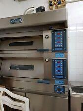 Polin forno elettrico professionale per pasticceria, 2 camere+cella lievitazione