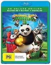 Kung Fu Panda 3 : 3D :  NEW Blu-Ray 3-D