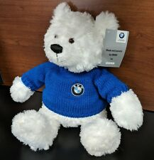 BMW Plush Bear -  White