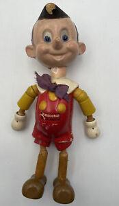 Ideal Novelty Toy Co. Jointed Wood Doll Walt Disney Vintage Original Wooden 1707