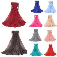New Womens Muslim Long Cotton Linen Hijab Shawl Scarf Scarves Wrap Arab 180*85cm