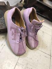 Fennix Mauve Purple Crocodile Leather Shoes  11 (US) Sneakers