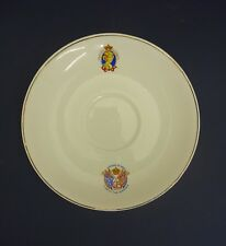 c1937 Saucer with Illustrated Image of Princess Elizabeth (Future Queen)