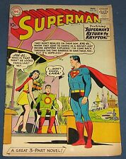 Superman #141  Nov 1960  Silver-Age Classic