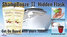 ShampBooze II Cruise Flask That Dispenses Real Shampoo