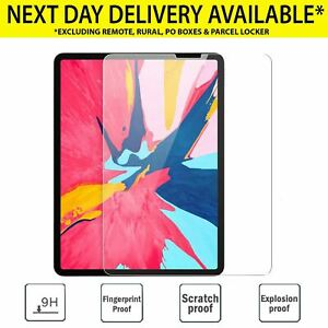 2X Apple iPad 7th gen 10.2 11 12.9 9.7 Pro Air 3 Screen Protector Tempered Glass