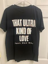 FALL OUT BOY Official T-SHIRT MENS ROCK MUSIC TEE Size Medium Ultra Kind Of Love
