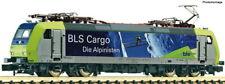 FLEISCHMANN N 738512 E-Lok Re 485 BLS Cargo Gletscher Ep VI  NEU OVP analog