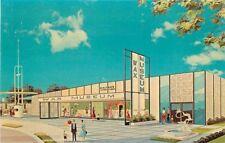 Dexter 1964-65 Walter's International Wax Museum NEW YORK Fair postcard 5344