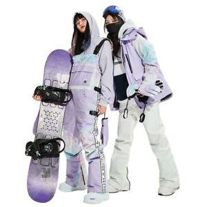 Waterproof Ski Suit  Outdoor Jackets Warm Snow Jacket Pants Sports Clothing