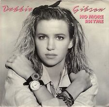 GIBSON, Debbie  (No More Thyme)  Atlantic 7-88885 +  Picture sleeve