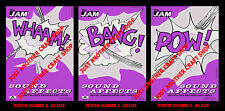 The Jam Sound Affects Complete Set of 3 A3 Size Posters USA Promo 1981