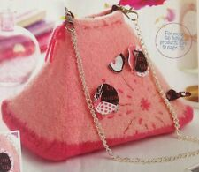 Knitting Pattern for Beautiful Felted Bag