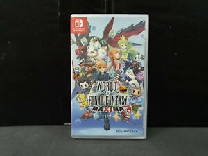(ASIA ENGLISH VER) Nintendo Switch World of Final Fantasy Maxima (SMALL TEAR/BN)