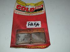 GOLDfren BRAKE PADS 144 CB125RS 83 KLX125 10-14 DR 125 99-01 OTHER FITS IN DESC