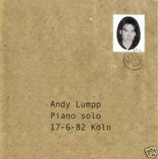 ANDY LUMPP piano solo 17 - 6 - 82 Köln CD NEU JAZZ