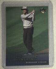 2001 Upper Deck Golf Card #56 Bernhard Langer Legends - Perfect Condition -Sharp