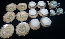 vintage Child's Lusterware Tea Set Japan Set of (23) Pieces