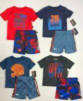 Baby Boy's Infant Under Armour Heat-Gear 2 Piece Shirt Shorts Set
