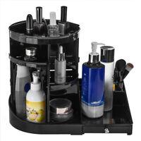 360° Rotating Cosmetic Organizer Makeup Jewelry Makeup Storage Case Holder Box