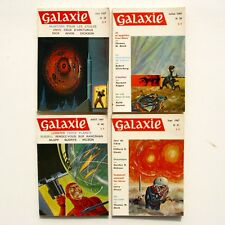 Lot de 4 livres GALAXIE n°38-39-40-41 - 1967 - Science Fiction - Fantastique