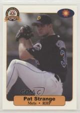 2001 Arizona Fall League Prospects Pat Strange #25